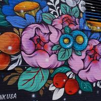 Falfestmények a világ körül/Murals around the world - New York