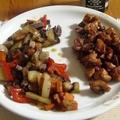 Teriyaki csirkecomb wokban pirított zöldségekkel