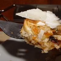 Cukkíni salottával leveles tésztán