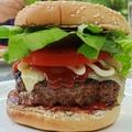 Hamburger a grillen