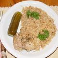 Rizsben párolt csirkecomb Tom Yum ízesítéssel