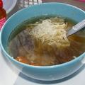 A legegyszerűbb kacsaaprólék leves
