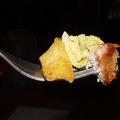 Fish&Chips zöldborsópürével