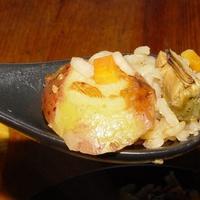 Kagylós rizottó pite