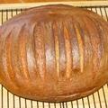 Újabb gyors kovászos rozsos kenyér