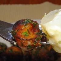 Petrezselymes újkrumpli spárgával