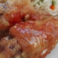 Mézes-fokhagymás csirkeszárny