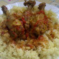 Kacsa szárnytő-curry