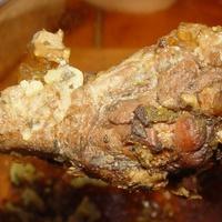 Kacsacomb és szárnytő tepsiben krumplival