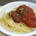 Zöldspárga krémleves és Spaghetti Bolognese