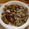 Gombaragu és petrezselymes újkrumpli