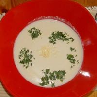 Fokhagyma krémleves krumplifőzőlével