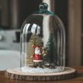 DIY lakásdekor egyszerűen | Üvegbúra csendélet