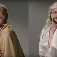 Kit Harington / Jon Snow paródiája a Trónok harcáról