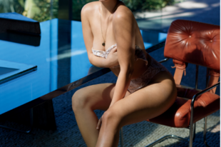 Palvin Barbi latín díva a mexikói férfimagazin címlapján