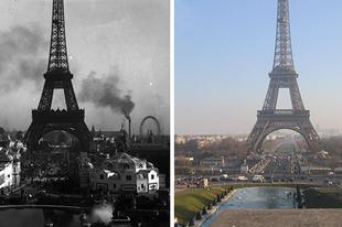 Ennyit változott Párizs több mint 100 év alatt!