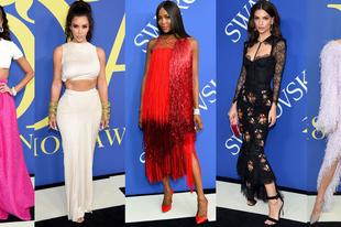 Ezek voltak az idei CFDA Fashion Awards legszebb ruhakölteményei