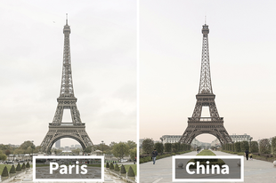 Így néz ki a kínai Párizs koppintás