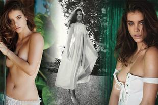 Palvin Barbi a Maxim magazinban forrósítja Éva kosztümben a hangulatot