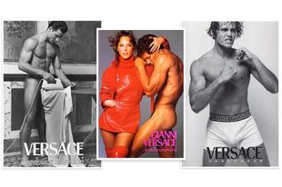 Pucér félistenek a Versace-tól
