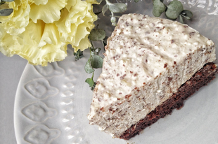 Isteni gluténmentes vegán Túrórudi torta