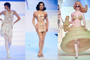 Ilyen volt Jean Paul Gaultier utolsó Haute Couture showja