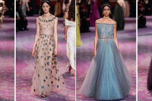 Íme a DIOR tavaszi Haute Couture kollekciója