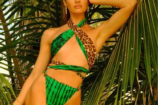 Trópusi fürdőruhák Candice Swanepoel tervezésében