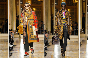 Ilyen lesz Versace szerint a 2018-as férfi divat