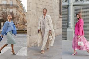 Íme a Paris Couture Fashion Week legszebb streetstyle szettjei