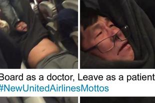 Vérző fejjel dobtak le egy fizető utast a United Airlines gépéről