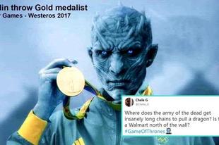 Ilyen lenne, ha a Trónok Harca szereplői Olimpiára mennének