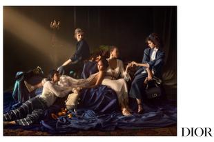 A Dior 2021-es tavaszi kampánya olyan, mint egy festmény