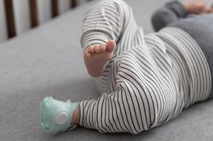 Zokni, ami figyeli a kisbabád légzését és szívverését!