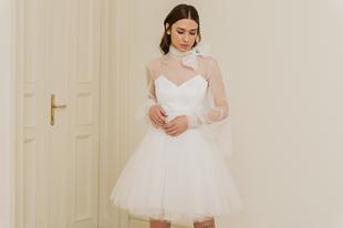 Fenntartható menyasszonyi ruha, mely a ruhatárunk része marad? Sármán Nóra megalkotta őket!