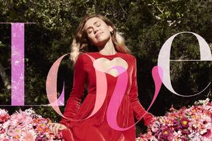 Miley Cyrus szende szerelmesként a Harper's Bazaar címlapján