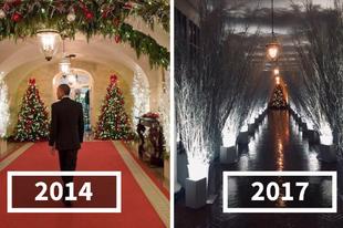 Melania Trump horror házát dekorált a Fehér Házból