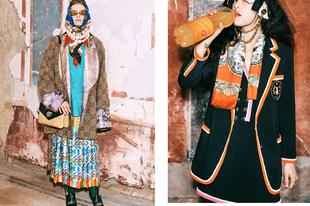 A Gucci pre fall kollekciója elég érdekesre sikeredett
