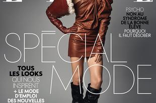 Axente Vanessa a francia Elle címlapján tündököl