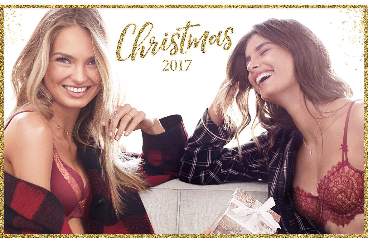 cf54db924f A kampányhoz természetesen videó is készült, melyben a VS angyalok  megmutatják, milyen dögösek felvéve a karácsonyi kollekció mesés darabjai.
