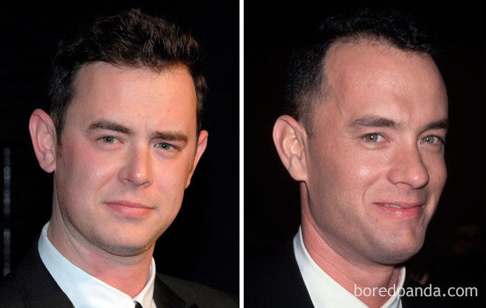 Colin Hanks & Tom Hanks