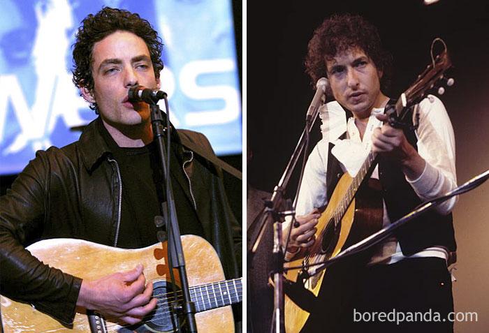 Jakob Dylan & Bob Dylan