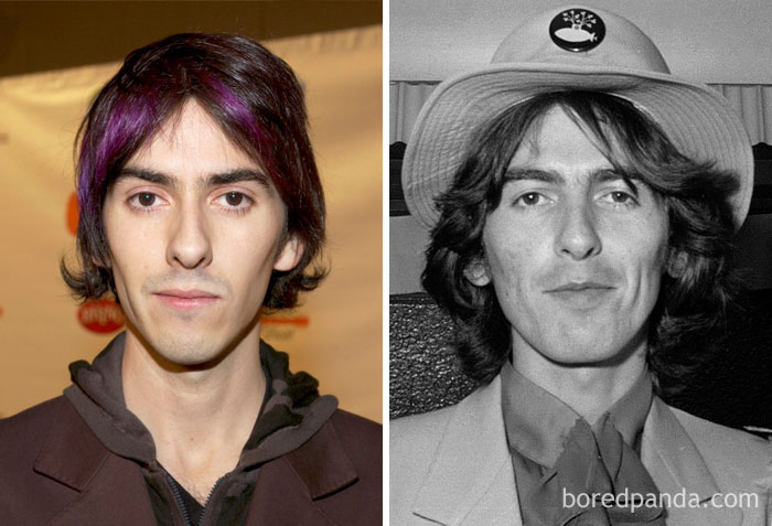 Dhani Harrison & George Harrison <br />