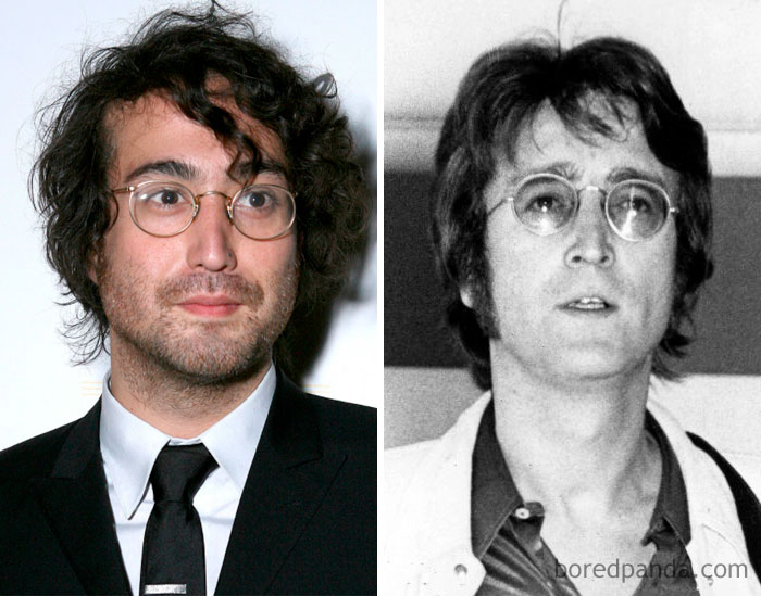 Sean Lennon & John Lennon
