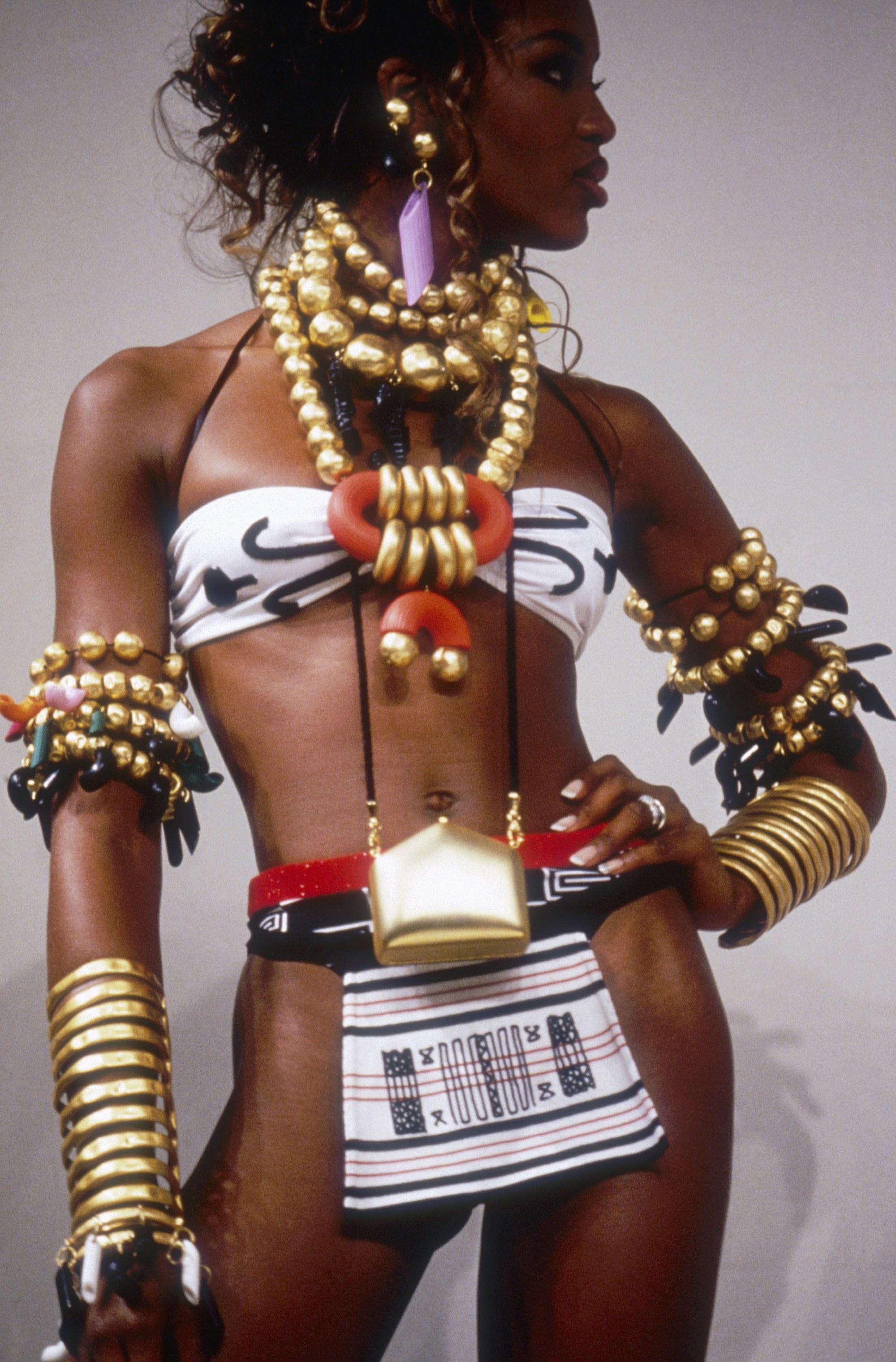 1992 - Milánó - Naomi Campbell