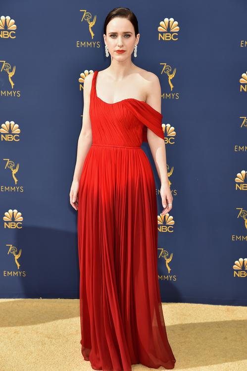 Rachel Brosnahan - Oscar de la Renta.
