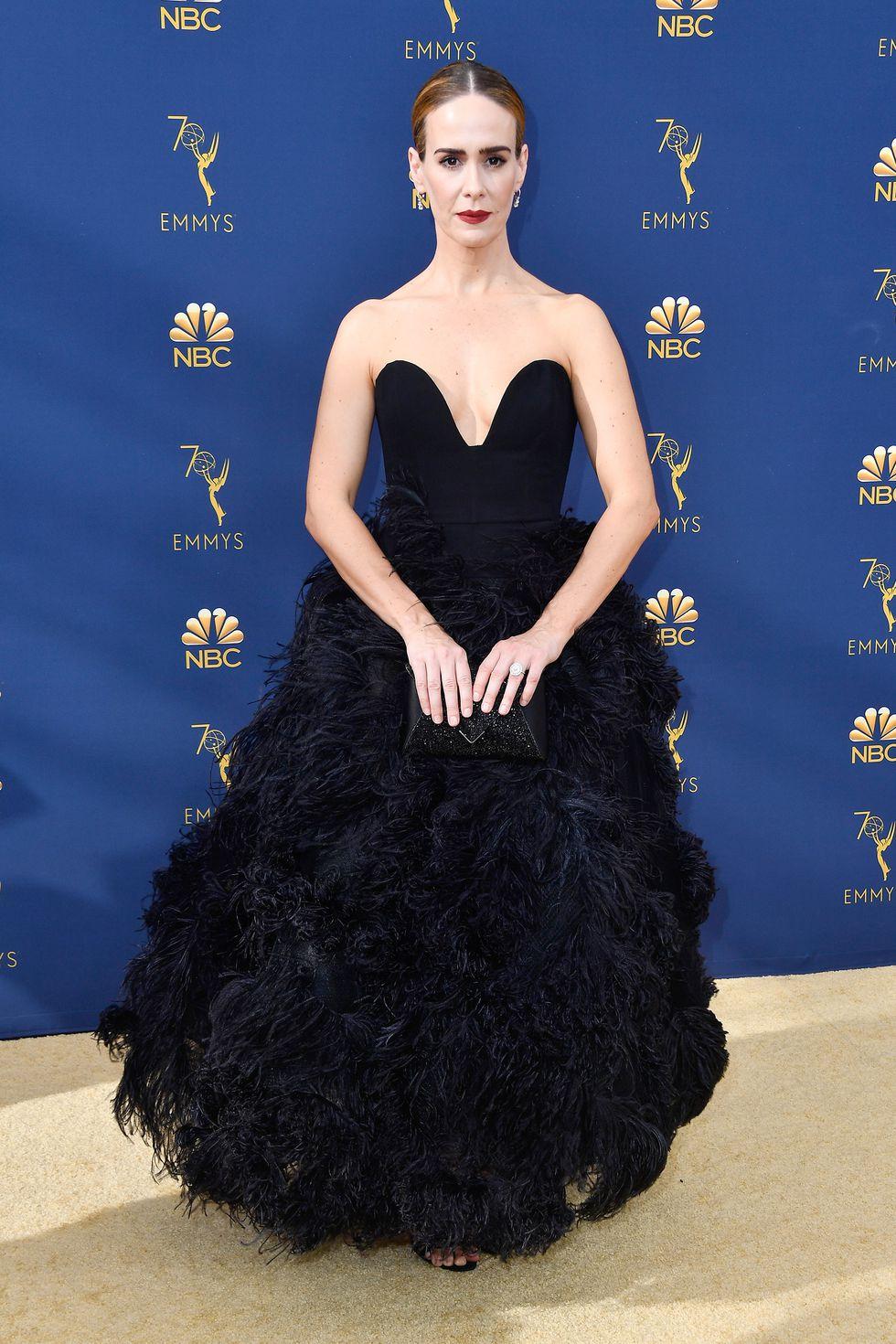Sarah Paulson - Oscar de la Renta.