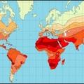 A Föld legforróbb országai, városai és területei