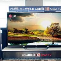 84 hüvelykes 4K felbontású tévével robbant az LG