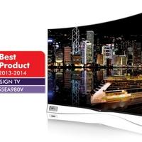 Rangos iparági elismeréssel jutalmazták a világ első hajlított képernyőjű OLED televízióját